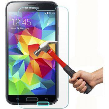2PCS Screen Protector for Samsung Galaxy S5 HD Full Coverage High Clear Premium Tempered Glass - TRANSPARENT