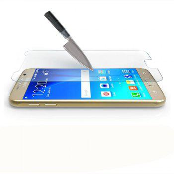 2PCS Screen Protector for Samsung Galaxy S6 HD Full Coverage High Clear Premium Tempered Glass - TRANSPARENT