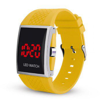 LED Digital  Military Outdoor Rectangle Unisex Electronic Casual Men Watch - DAISY DAISY