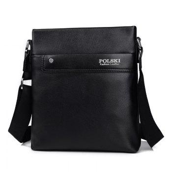 Men'S Bag Shoulder Casual Backpack Korean Messenger Outdoor - BLACK
