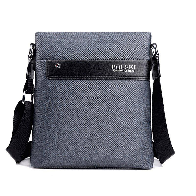 Men'S Bag Shoulder Casual Backpack Korean Messenger Outdoor - GRAY