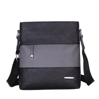 New Shoulder Bag Korean Casual Bag Shoulder Bag Sports Fashion Men'S Messenger Bag - BLACK BLACK