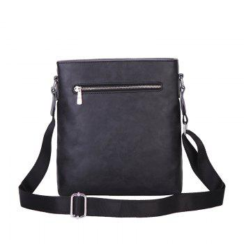 New Shoulder Bag Korean Casual Bag Shoulder Bag Sports Fashion Men'S Messenger Bag -  BLACK