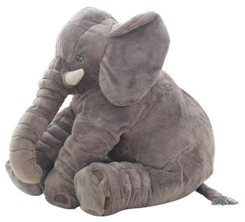 Infant Soft Elephant Playmate Calm Doll Baby Toy - GRAY 40CM / 15.8 INCH
