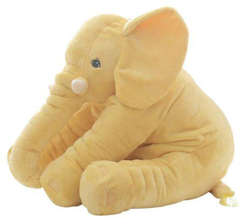 Infant Soft Elephant Playmate Calm Doll Baby Toy - YELLOW 40CM / 15.8 INCH
