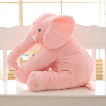40cm Infant Soft Appease Elephant Playmate Calm Doll Baby Toy - PINK 40CM / 15.8 INCH