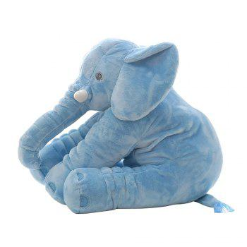 40cm Infant Soft Appease Elephant Playmate Calm Doll Baby Toy - BLUE BLUE