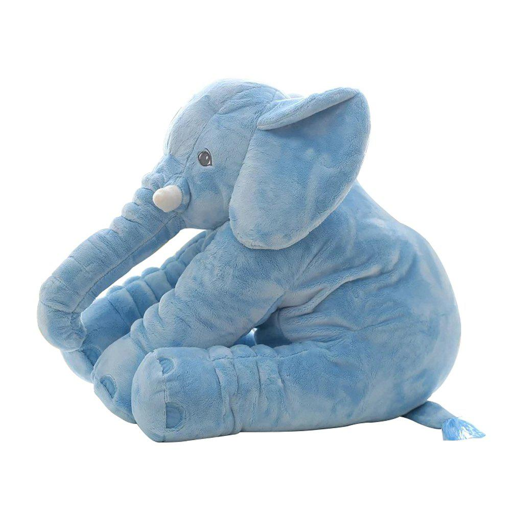 Infant Soft Elephant Playmate Calm Doll Baby Toy - BLUE 40CM / 15.8 INCH