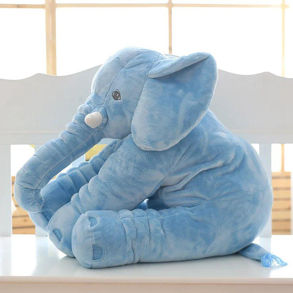 40cm Infant Soft Appease Elephant Playmate Calm Doll Baby Toy - BLUE 40CM / 15.8 INCH