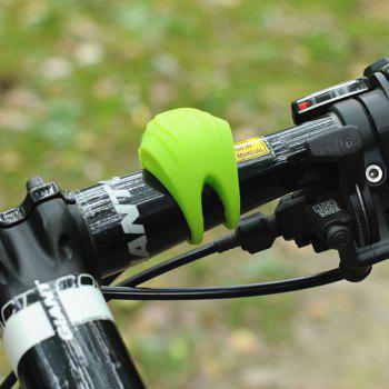 LEADBIKE Mini Flash Bicycle Taillight 3 Mode Silicone Waterproof Bike Rear Warning Light with Two Bright Red LED - GREEN