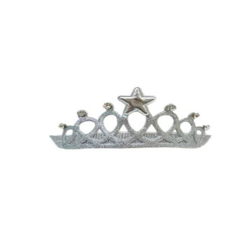 Children's Crown Hair Band - SILVER