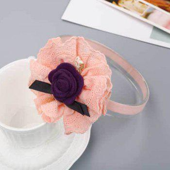 Children's Rose Hair Band - PINK
