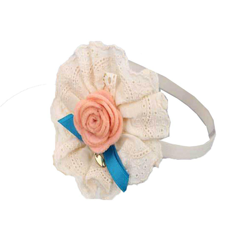 Children's Rose Hair Band - BEIGE