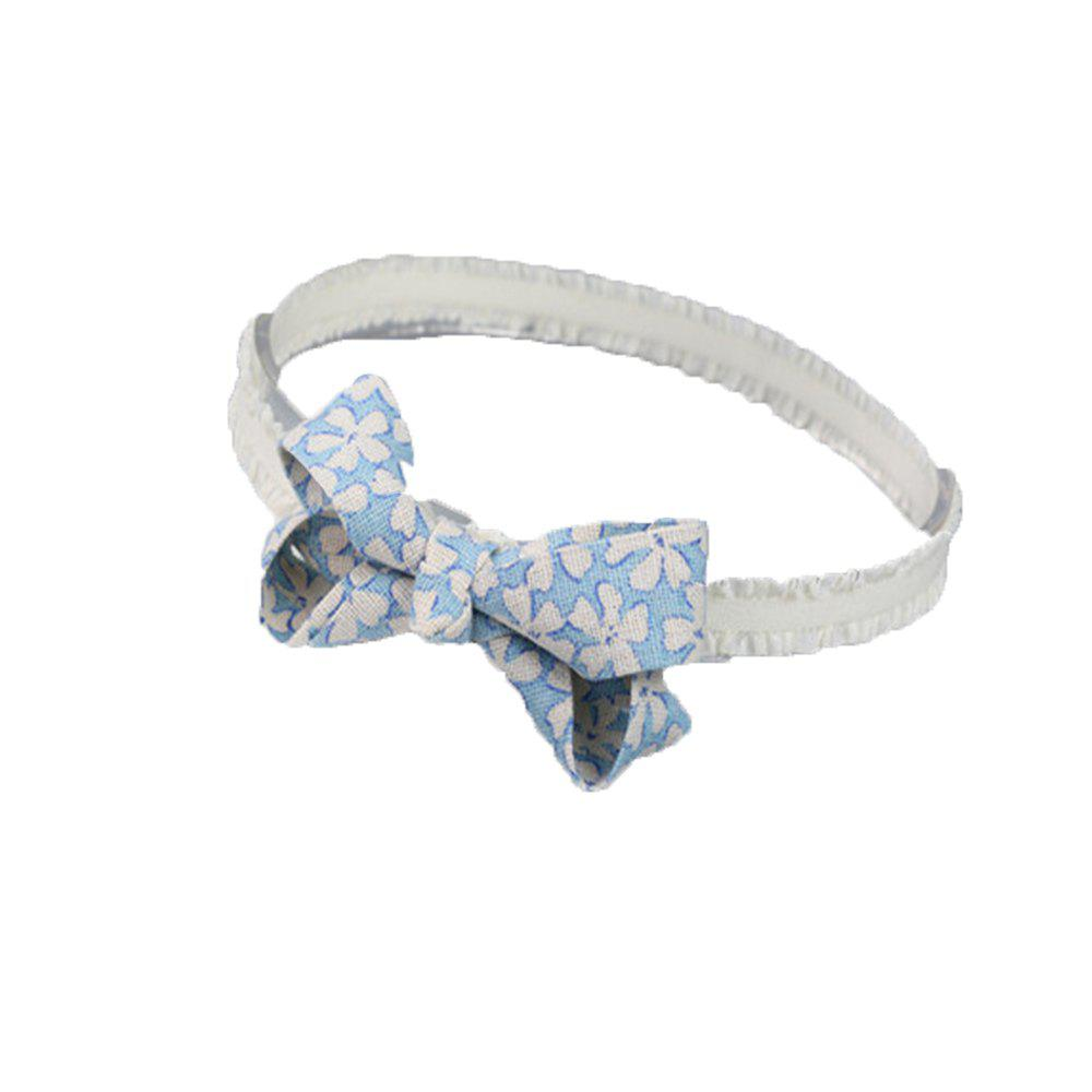 Fashionable Stereo Bowknot Hair Band - BLUE