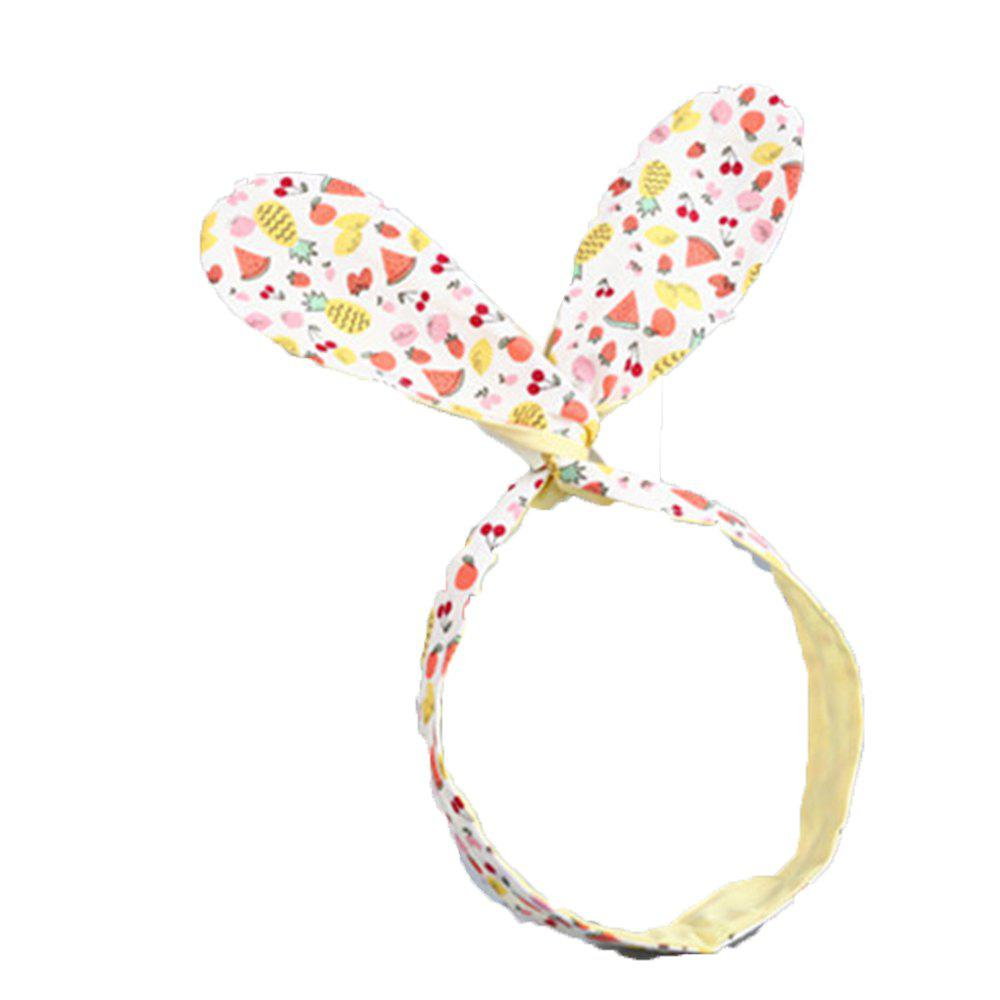 Cute Baby Fruit Kids Hair Band - YELLOW
