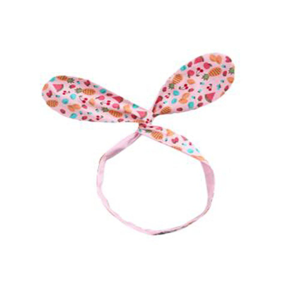 Cute Baby Fruit Kids Hair Band - PINK