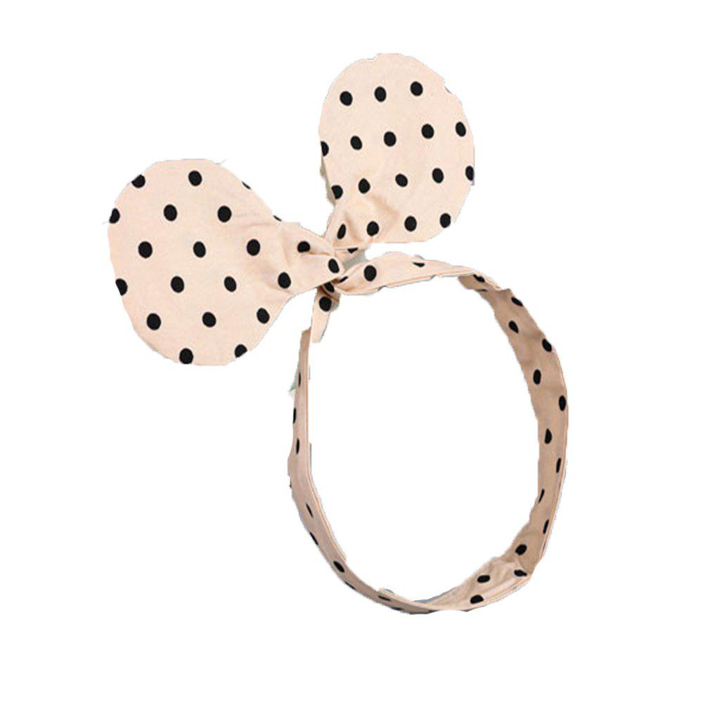 Lovely Children Wave Point Hair Band - BEIGE