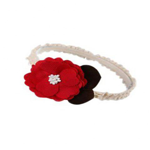 Fashion Flower Children Hair Band - RED