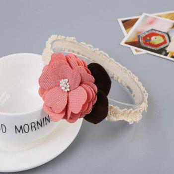 Fashion Flower Children Hair Band - PINK