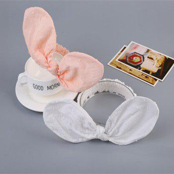Pure Cotton Ear Rabbit Children Hair Band - WHITE