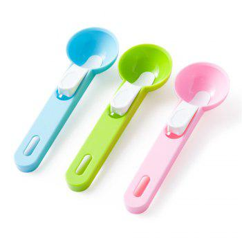 Family Party Ice Cream Balls Spoon Spoon Fruit Watermelon Ice Ball Stack Kitchen Accessories Gadgets - PINK