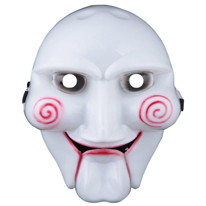 Halloween Party Supplies Theme Mask Halloween Cosplay Costume Mask Scary Ghost Masks - WHITE
