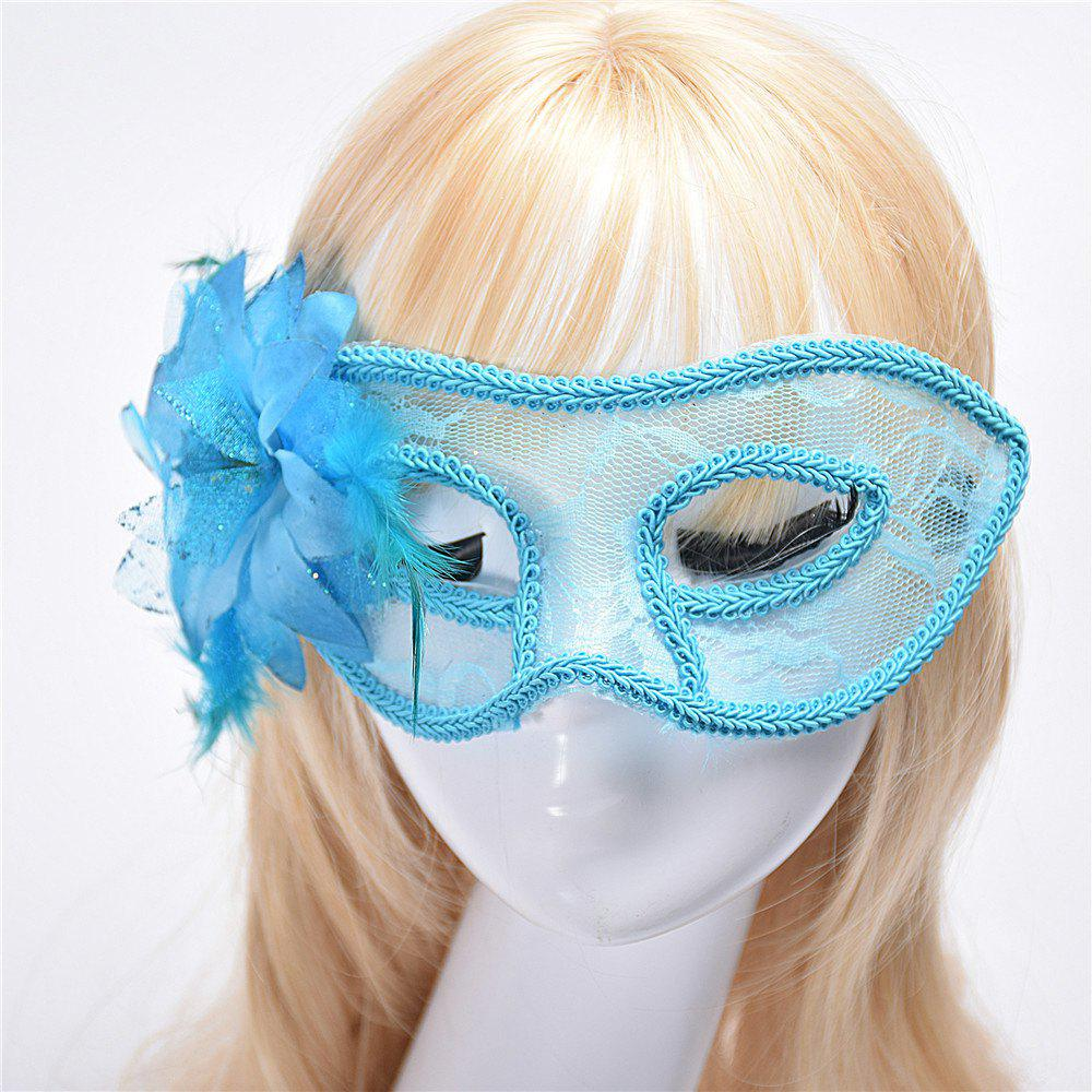 Fashion Sexy Mask Venetian Ball Masquerade Masks Festive Party Supplies - BLUE