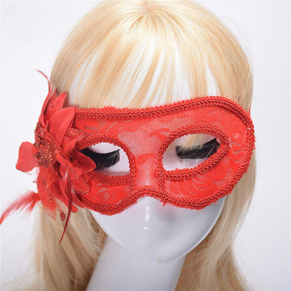 Fashion Sexy Mask Venetian Ball Masquerade Masks Festive Party Supplies - RED