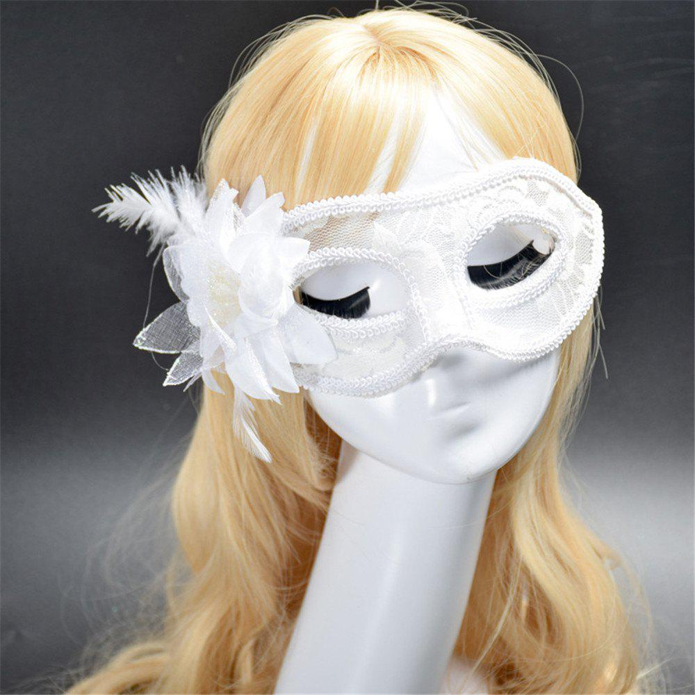 Fashion Sexy Mask Venetian Ball Masquerade Masks Festive Party Supplies - WHITE