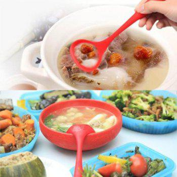 10Pcs/set Silicone Heat Resistant Kitchen Cooking Utensils Non-Stick Baking Tool Red - RED