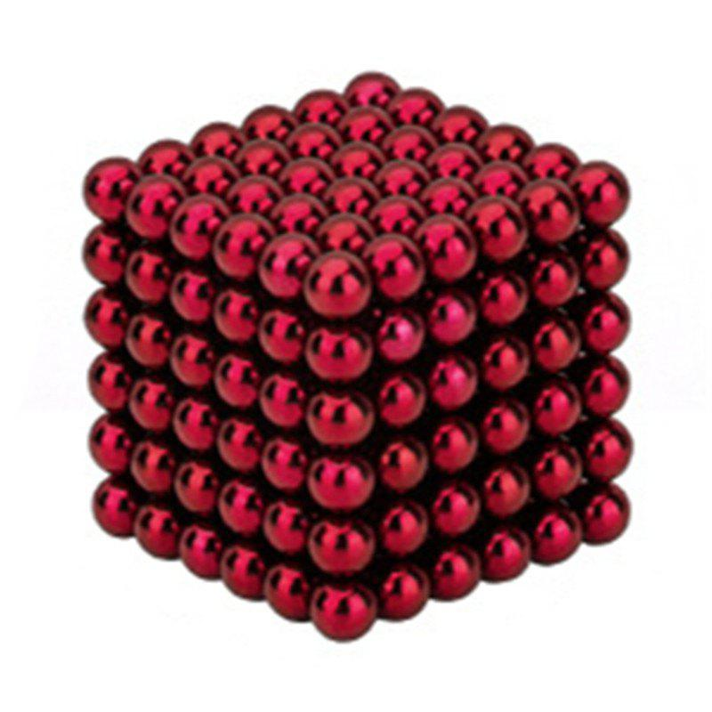 Interesting Puzzle Buckyballs - RED