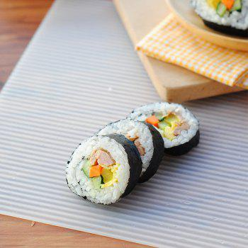 Creative DIY Wave Lines Multi-Purpose Sushi and Oven Rolls Mat - WHITE WHITE