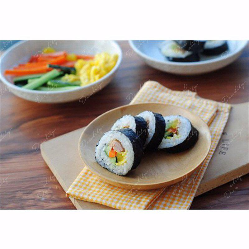 Creative DIY Wave Lines Multi-Purpose Sushi and Oven Rolls Mat - WHITE