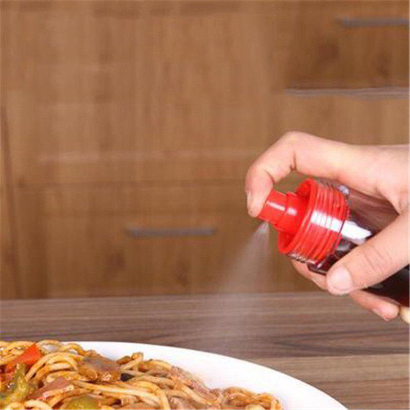 Creative Outdoor Travel Portable Controllable Nozzle Oil Pot - RED