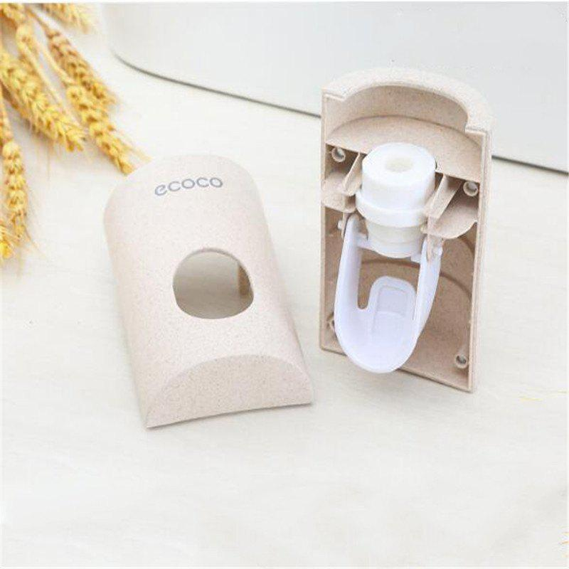 Creative and Simple Paste Automatic Squeezer - BEIGE