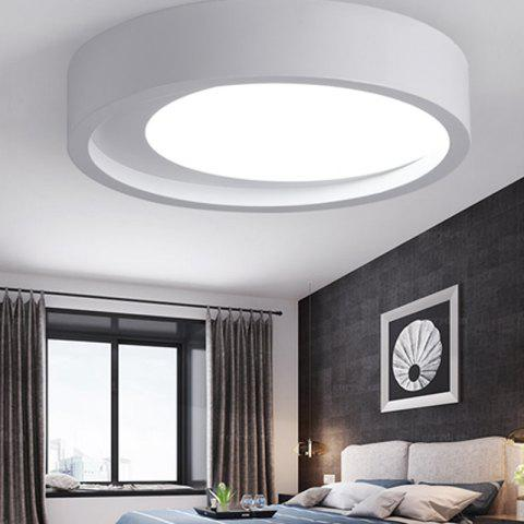ZUOGE DJBXD01 Modern Creative Half Moon Type Bedroom Ceiling Lamp - WHITE WHITE LIGHT