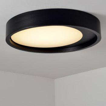 ZUOGE DJBXD01 Modern Creative Half Moon Type Bedroom Ceiling Lamp - BLACK WHITE LIGHT