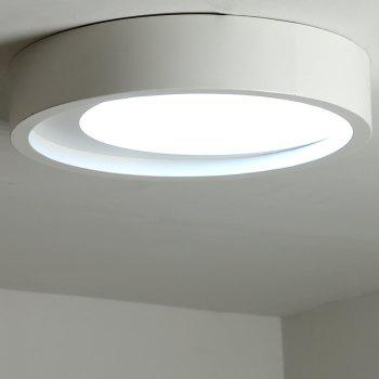 ZUOGE DJBXD01 Modern Creative Half Moon Type Bedroom Ceiling Lamp - WHITE WARM LIGHT