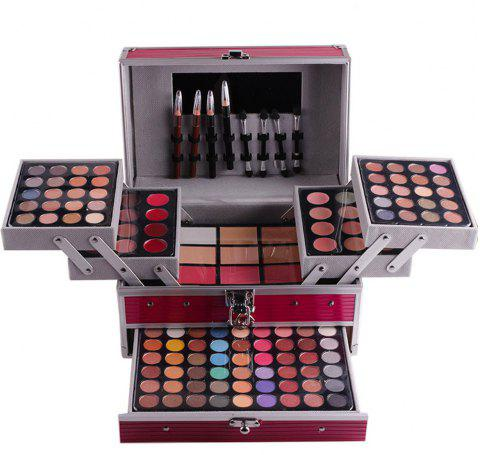 MISS ROSE 7007 - 006Y Natural Eye Shadow Makeup Plate - ROSE RED