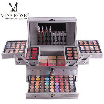 MISS ROSE 7007 - 006Y Natural Eye Shadow Makeup Plate - SILVER