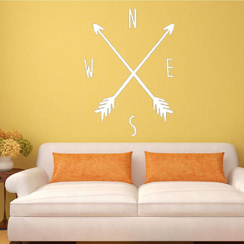2018 DSU Tribal Arrow Compass Wall Decal Removable Vinyl Wall ...