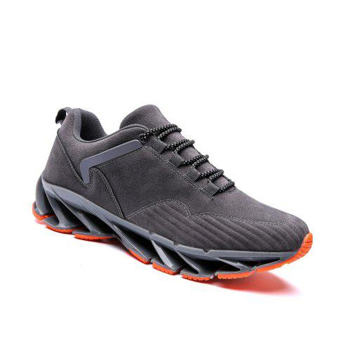ZEACAVA 2018 Men's New Blade Sports Shoes Selling Models - GRAY 44