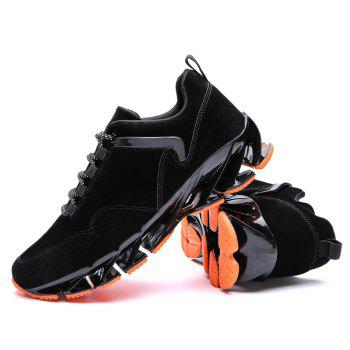 ZEACAVA 2018 Men's New Blade Sports Shoes Selling Models - BLACK 42