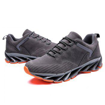 ZEACAVA 2018 Men's New Blade Sports Shoes Selling Models - GRAY 42