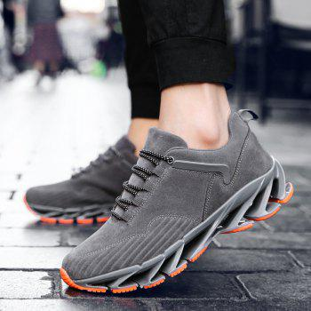 ZEACAVA 2018 Men's New Blade Sports Shoes Selling Models - GRAY 39