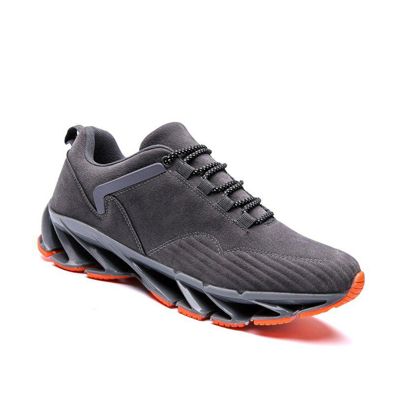 ZEACAVA 2018 Men's New Blade Sports Shoes Selling Models - GRAY 43