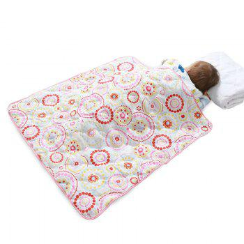 I-Baby Newborn Infant Baby Sweet Moment Cotton Crib Bedding Quilt - PINK PINK