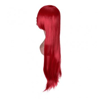 Hairyougo Long Straigh High Temperature Fiber Synthetic Cosplay  Wig 85cm 1pc -  RED