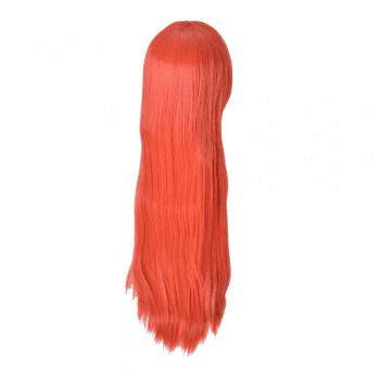 Hairyougo Long Straigh High Temperature Fiber Synthetic Cosplay  Wig 85cm 1pc -  ORANGE