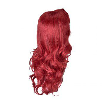 HairYouGo 2045  High Temperature Fiber Long Wavy Cosplay Wig 28inch - RED